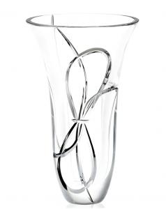 "Vera Wang Wedgewood Crystal Love Knots 10"" Vase"