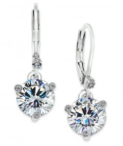 kate spade new york Solitaire Crystal Drop Earrings