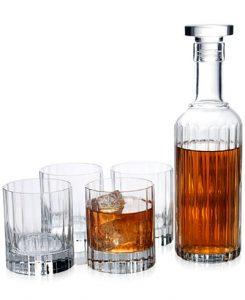 Luigi Bormioli Bach 5-Piece Whiskey Set