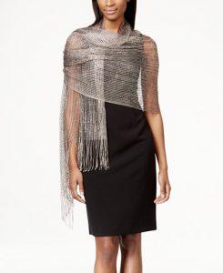 Collection XIIX Metallic Net Wrap