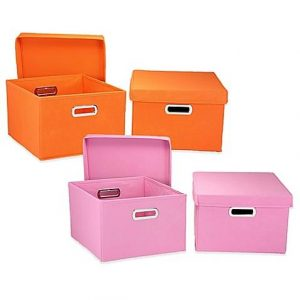 Household Essentials Collapsible Storage Boxes