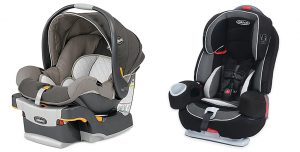 Chicco KeyFit Infant Car Seat | Graco Nautilus Elite
