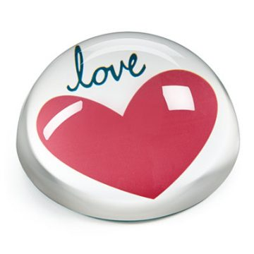 Home Design Studio Small Heart Paperweight, Only at Macy's