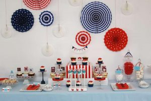 Nautical Baby Shower Decor