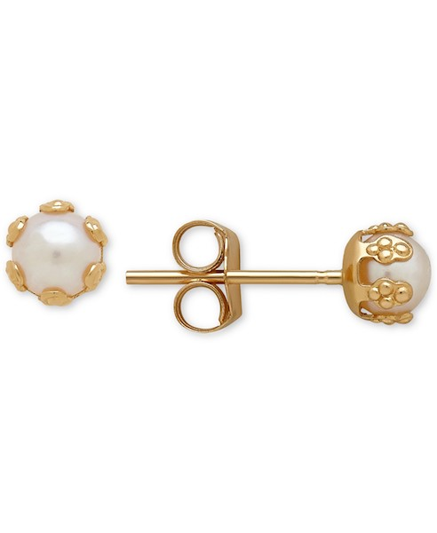 Cultured Freshwater Pearl Earrings