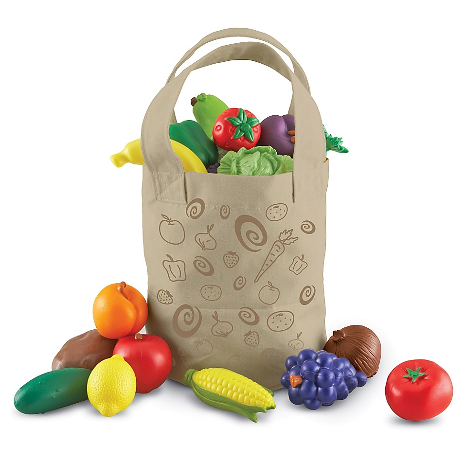 Sprouts Fresh-Picked Fruit and Veggie Tote Set