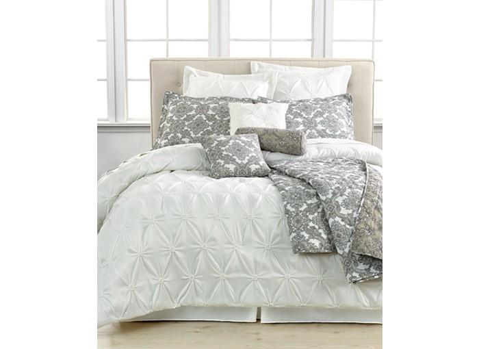 Jasmine White 10 Piece Comforter Sets
