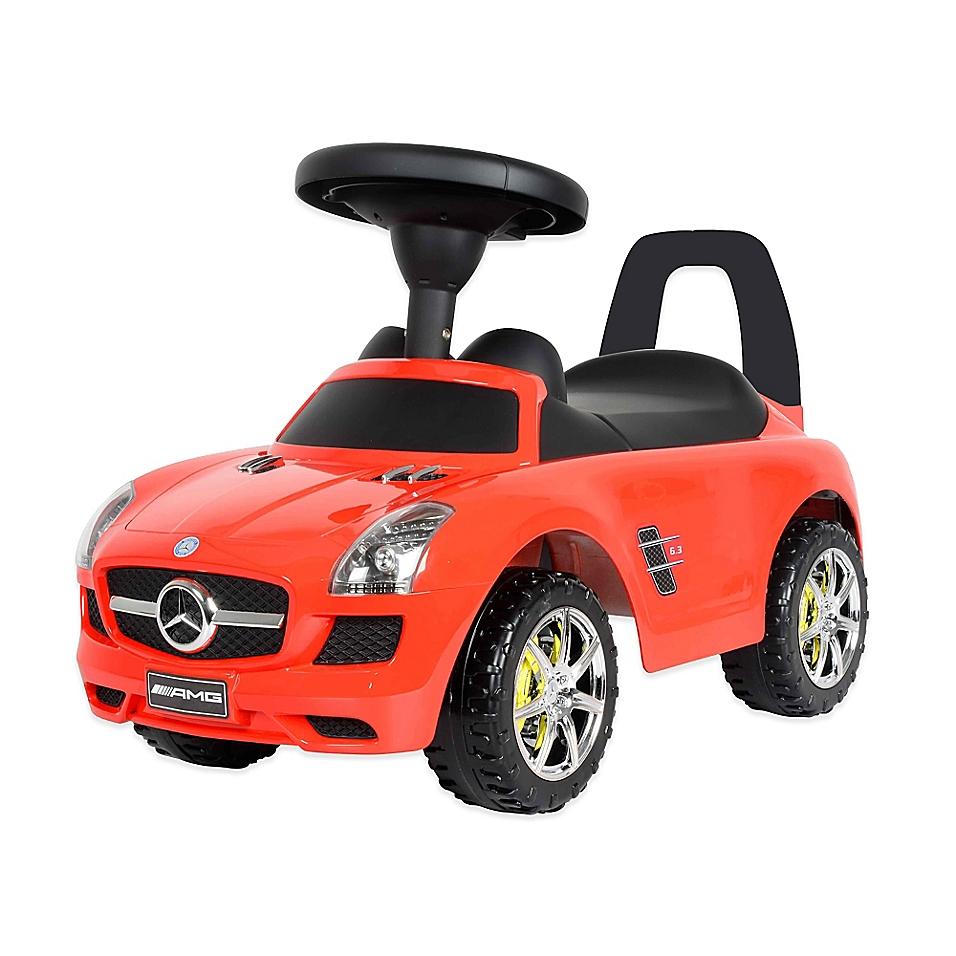 Mercedes SLS AMG Push Car in Red