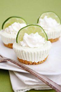 Mini No-Bake Key Lime Pies