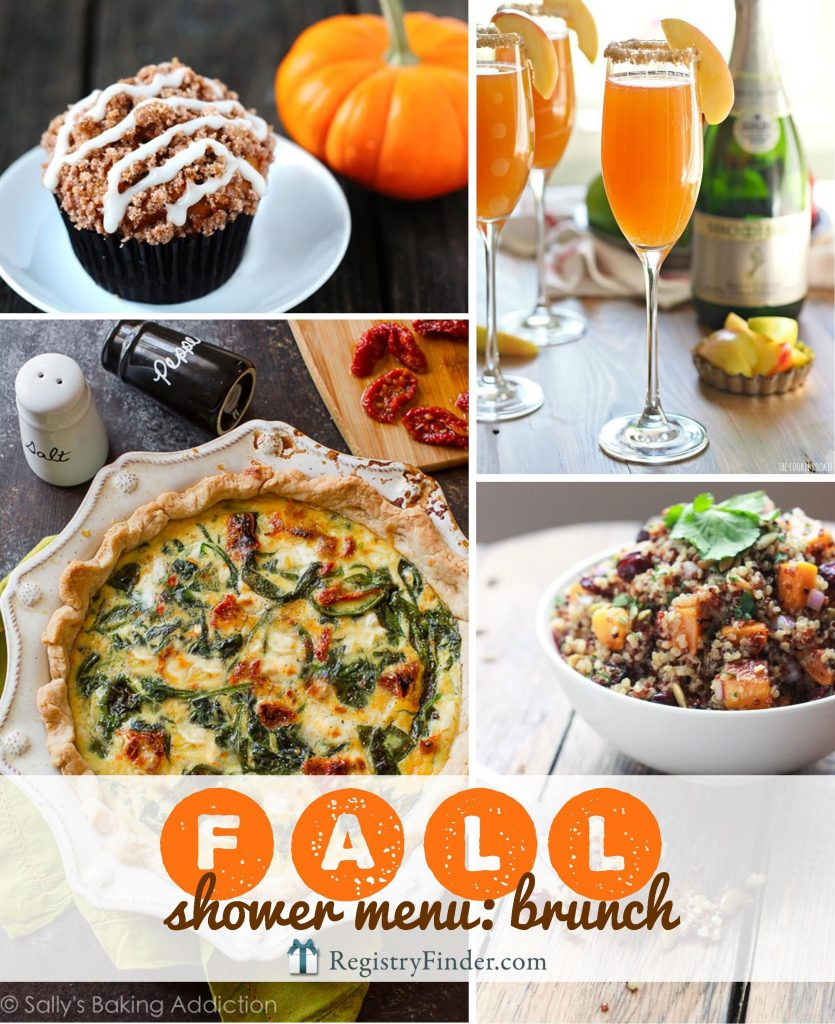 Fall Brunch Menu | Are you planning a shower with your besties? Check out our Fall Brunch Menu. Minimum effort + maximum flavor...we've carefully selected delicious, easy dishes that are filled with autumn's best flavors!