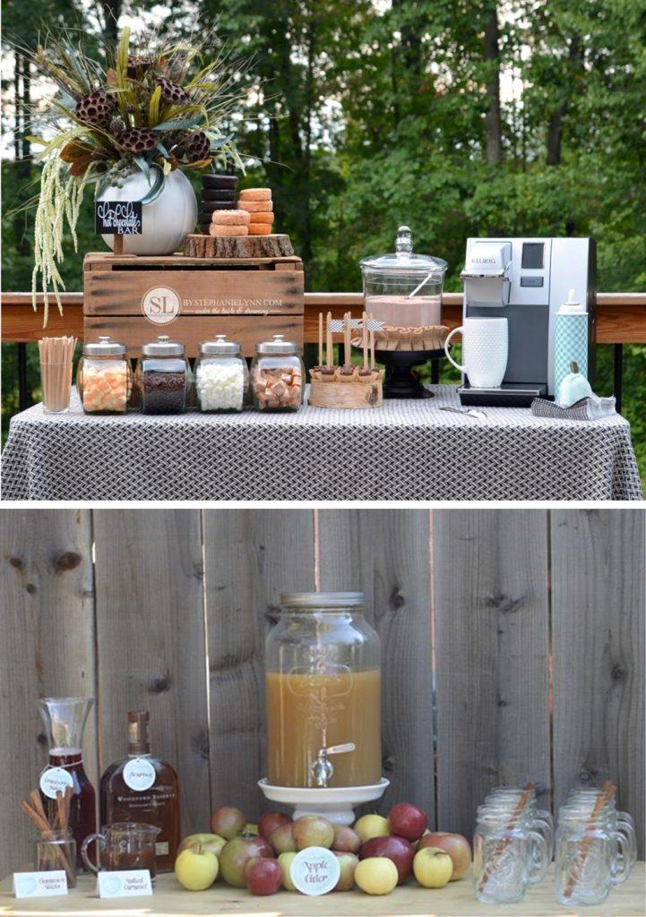 Top 10 Fall Bridal Shower Ideas | Make a Hot Drink Bar