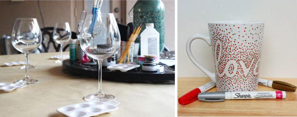 Top 10 Fall Bridal Shower Ideas | Decorate a Mug or Wine Glass