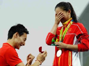 Engagements at the Olympics