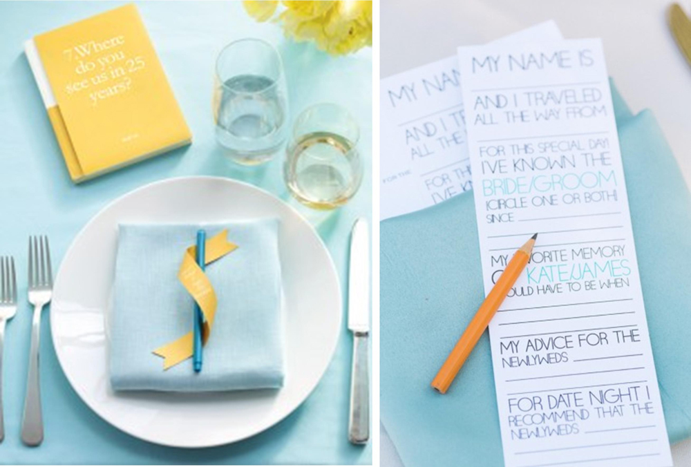 Fun Games and Activities that Will Keep Your Wedding Guests Entertained | Wedding Advice Cards or Book