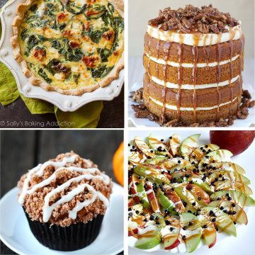 Fabulous Fall Shower Menus | RegistryFinder.com Fall Brunch Menu | Are you planning a fall shower? Check out our Fall Shower Menus. Minimum effort + maximum flavor...we've carefully selected delicious, easy dishes that are filled with autumn's best flavors!