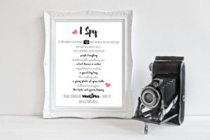 Fun Games and Activities that Will Keep Your Wedding Guests Entertained | Camera I Spy
