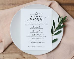 Fun Games and Activities that Will Keep Your Wedding Guests Entertained | The Kissing Menu