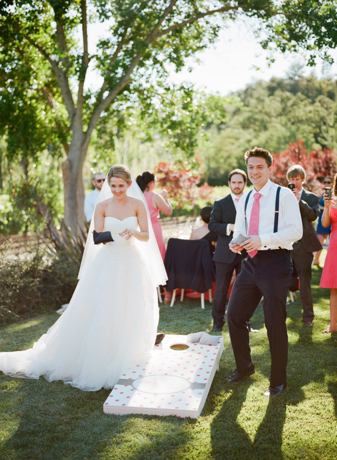 Fun Games and Activities that Will Keep Your Wedding Guests Entertained | Lawn Games