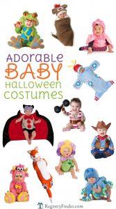 Cute and Cuddly Baby Halloween Costumes | RegistryFinder.com
