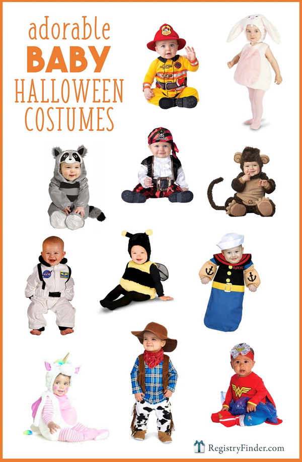 Adorable Baby Halloween Costumes | RegistryFinder.com