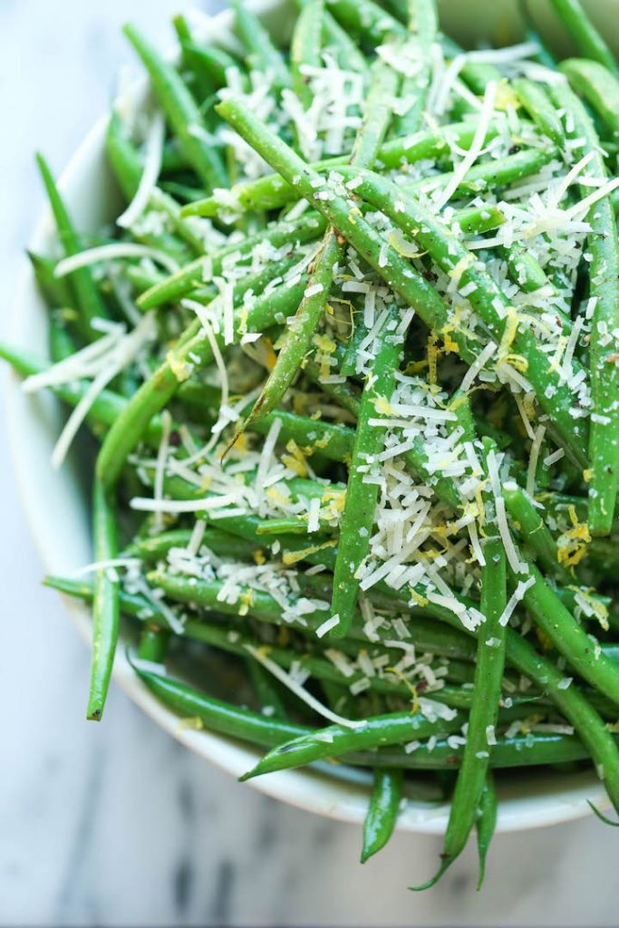 Green Beans | Light and Healthy Thanksgiving Sides