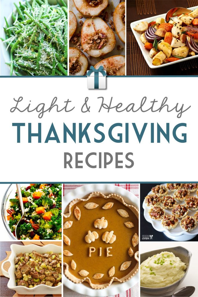Light & Healthy Thanksgiving Recipies | RegistryFinder.com