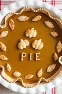 Light and Healthy Thanksgiving Sides and Desserts | Skinny Pumpkin Pie