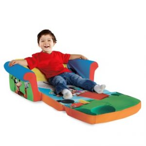 Amazon's Holiday Toy List has the best Gifts | Mickey Mouse Club House Flip Open Sofa - Marshmallow Furniture