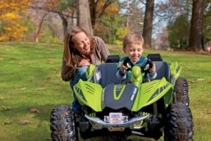 Amazon's Holiday Toy List has the Best Gifts | Fisher-Price Power Wheels Green Dune Racer