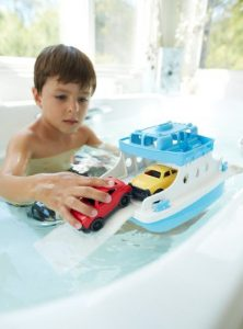 The Toys from Amazon's Holiday Toy List make the Best Gifts | Green Toys Ferry Boat with Mini Cars Bathtub Toy