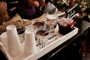Hot Chocolate Bar | Winter Wedding Shower Ideas