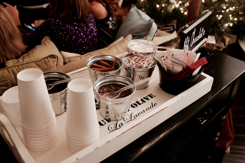 Hot Chocolate Bar | Winter Wedding Shower Ideas