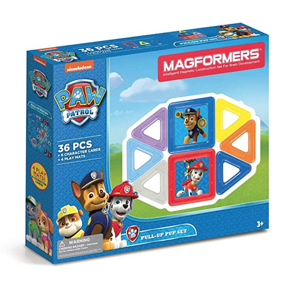 Magformers Building Kit, Paw Patrol Colors