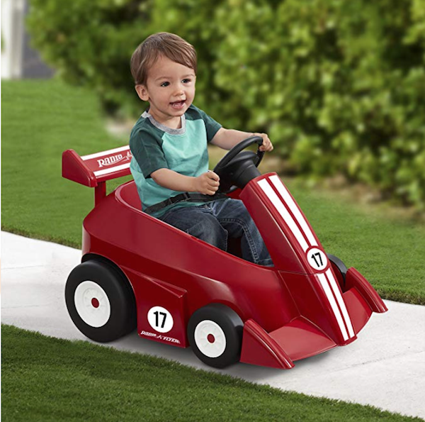 Radio Flyer Grow with Me Racer Children's Powered Ride On