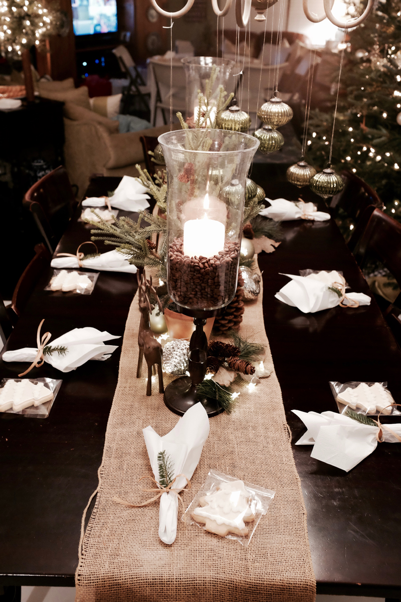 winter bridal shower tablescape holiday centerpiece christmas table decorations