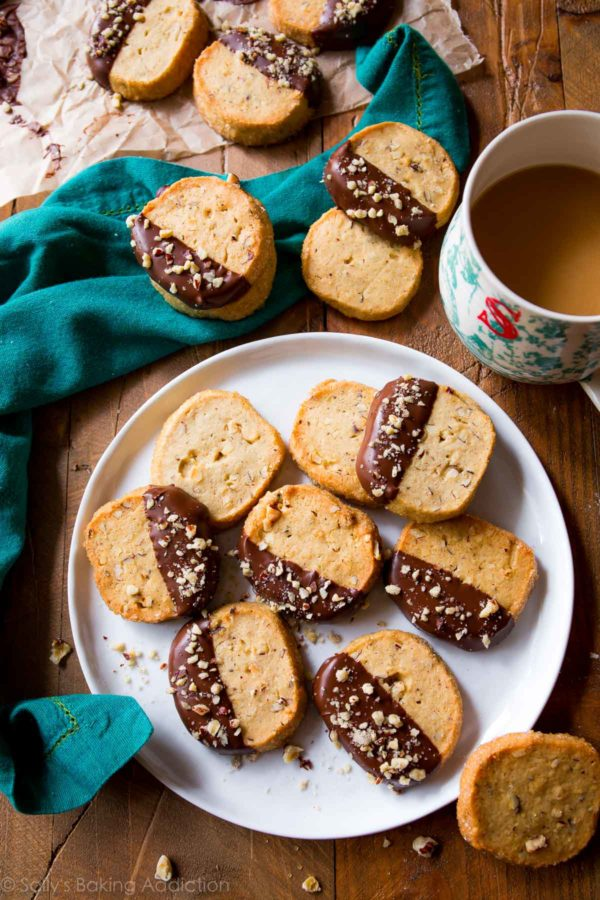 "Impress your guests with these easy holiday dessert recipes | Hazelnut Slice ""n"" Bake Cookies"