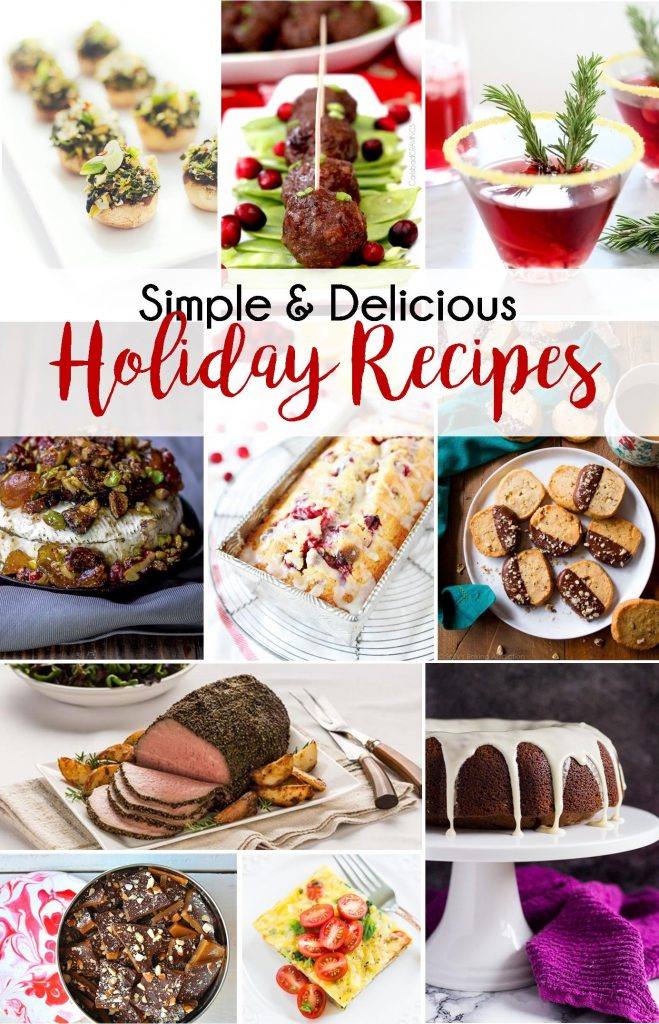 Try these simple and delicious holiday recipes to help you win the holidays this year! | Simple and Delicious Holiday Recipes from RegistryFinder.com