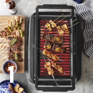 Philips Smoke-Less Infrared Grill with BBQ & Steel-Wire Grids