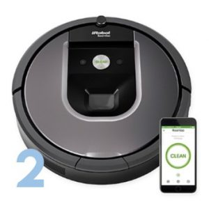 iRobot® Roomba® 960 Vacuum Cleaning Robot | Wedding Gift Registry