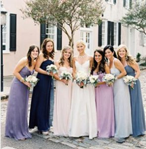 Mismatched Bridesmaid Dresses