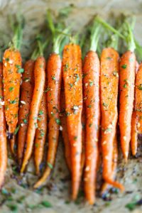 Garlic Carrots |Entertaining Recipes | Valentine's Day Dinner