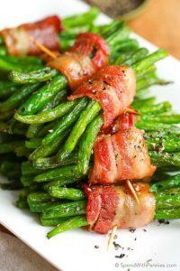 Green Bean Bundles | Entertaining Recipes | Valentine's Day Dinner