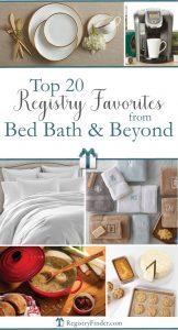 Top 20 Bed Bath & Beyond® Registry Favorites