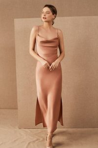 sedona sunset bridesmaid dress