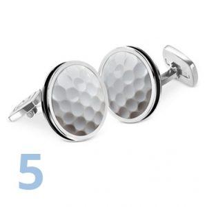 Groomsmen Gift Advice | Gifts for Golfers | Golf Ball Cufflinks