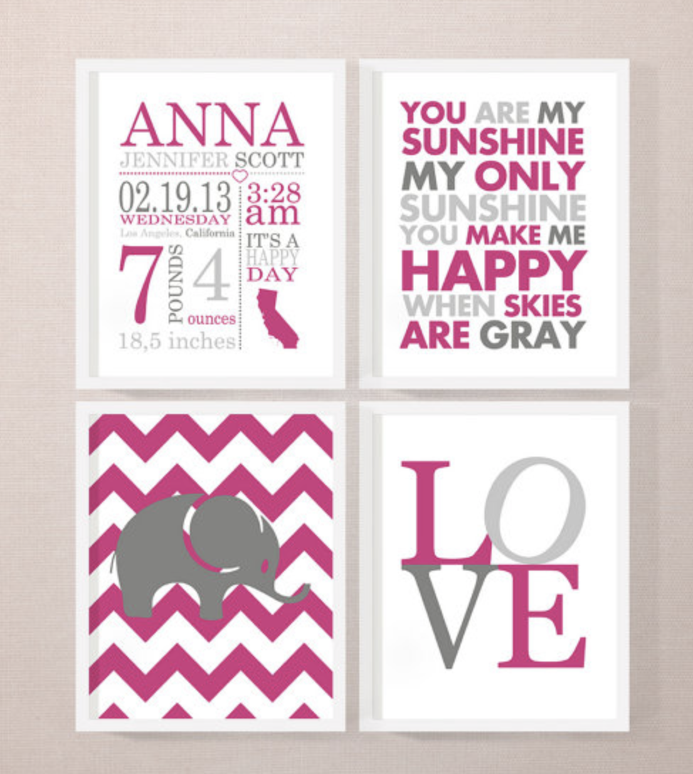 Personalize Baby Gifts Can be added to your BabyList registry - RegistryFinder.com