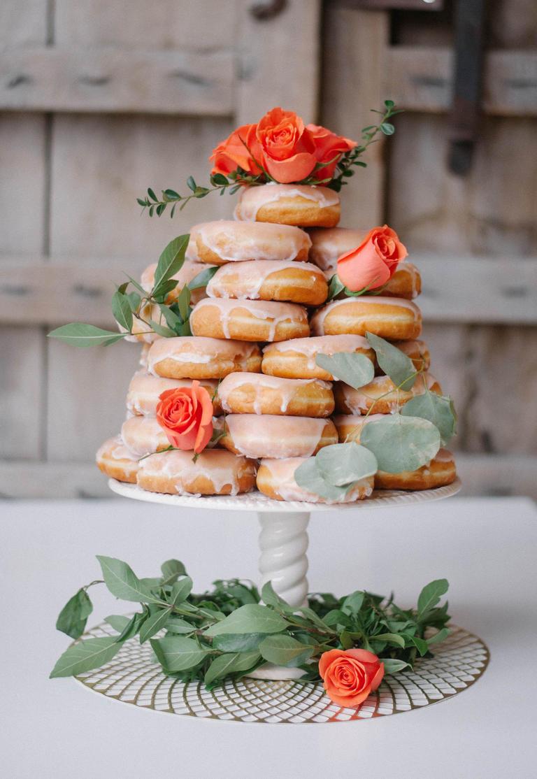 Donut Cake | Brunch Spring Shower Menu
