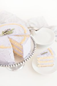 Lavander Cake | Spring Shower Menu Dinner