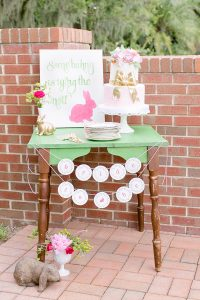 Gingham and Bunnies Bridal Shower from Southern Weddings