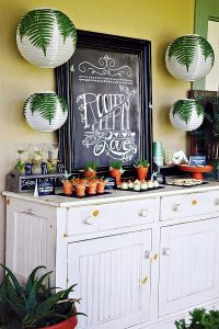 """""""Rooted Deeply"""" Bridal Shower from Hostess with the Mostess"""